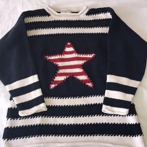 Vintage patriotic sweater